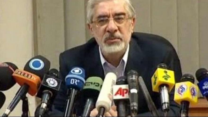 Video Situace po volbách v Íránu