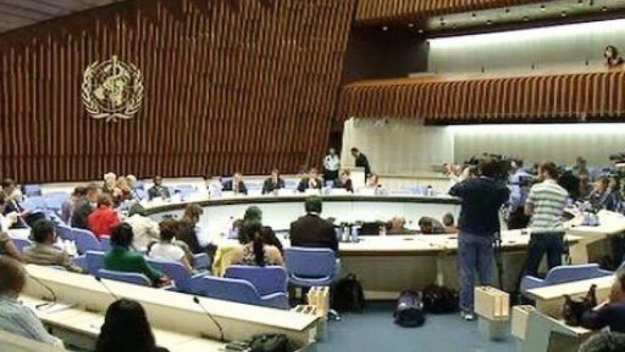 Video Brífink WHO k vyhlášení pandemie mexické chřipky