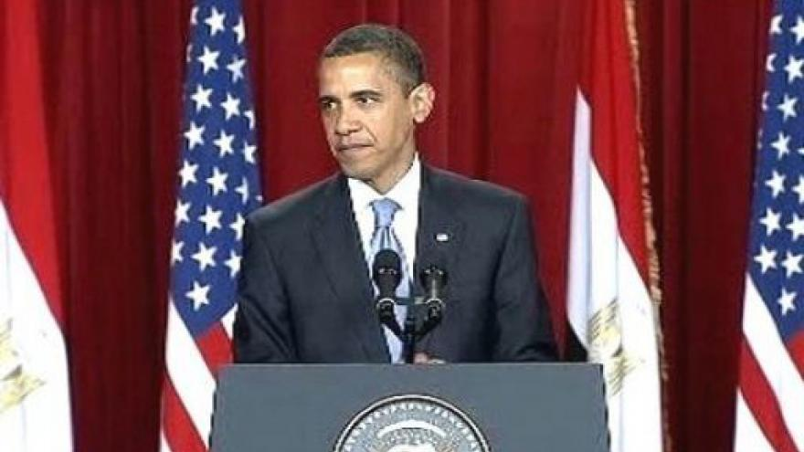 Video Obama vyzval v Káhiře ke spolupráci