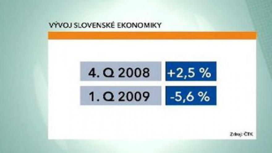 Video Propad slovenské ekonomiky