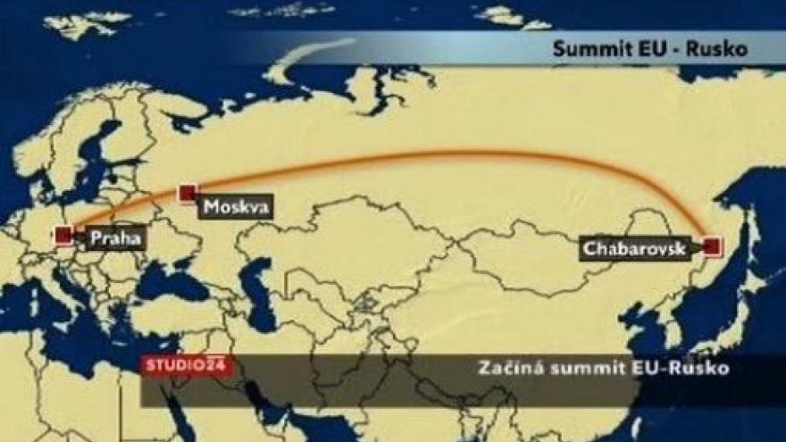 Video Studio ČT24 k summitu EU-Rusko (15:30)