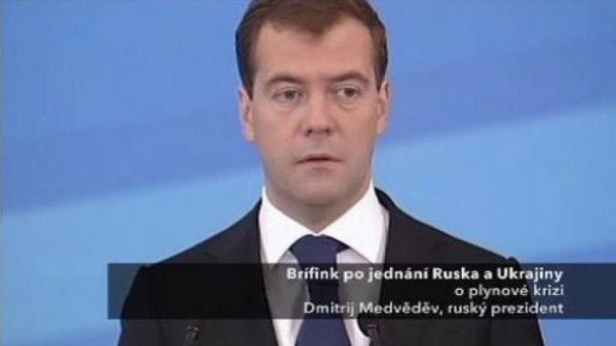 Video Brífink ruského prezidenta k dodávkám plynu