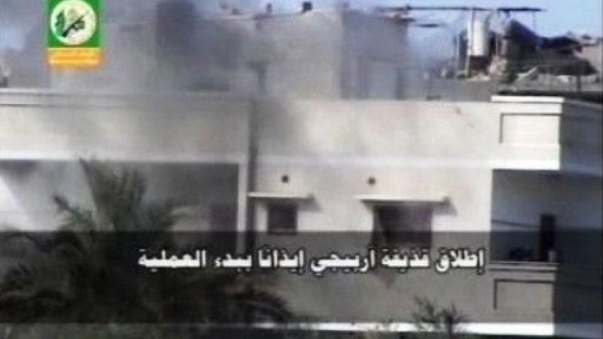 Video Palestinci prchají před izraelskou ofenzivou