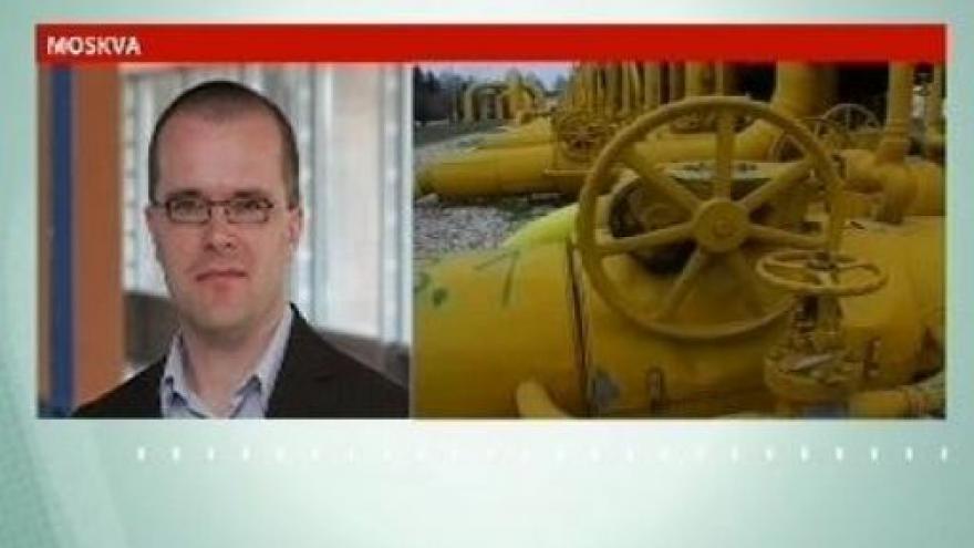 Video Telefonát Josefa Pazderky, vyjádření mluvčího delegace Evropské komise na Ukrajině Davida Stulíka