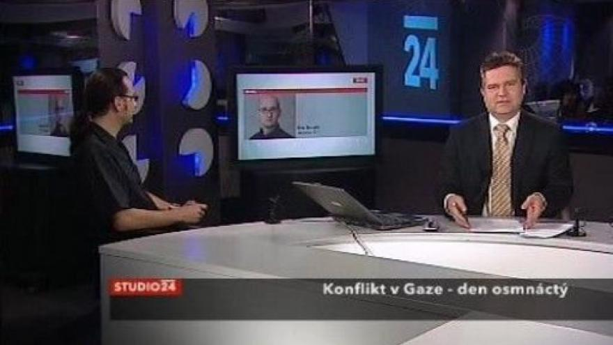 Video 18. den konfliktu v Gaze
