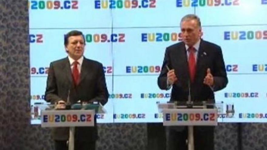 Video TK José Barrosa a Mirka Topolánka