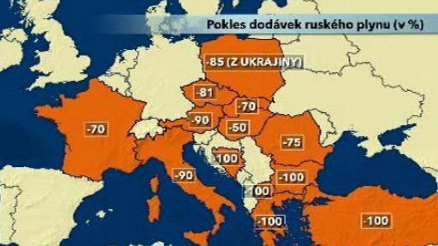 Video Přerušení dodávek plynu do Evropy
