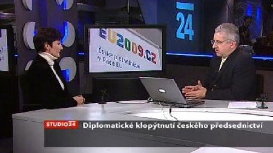 Video Studio ČT24 s Janou Hybáškovou o diplomatickém faux-pas
