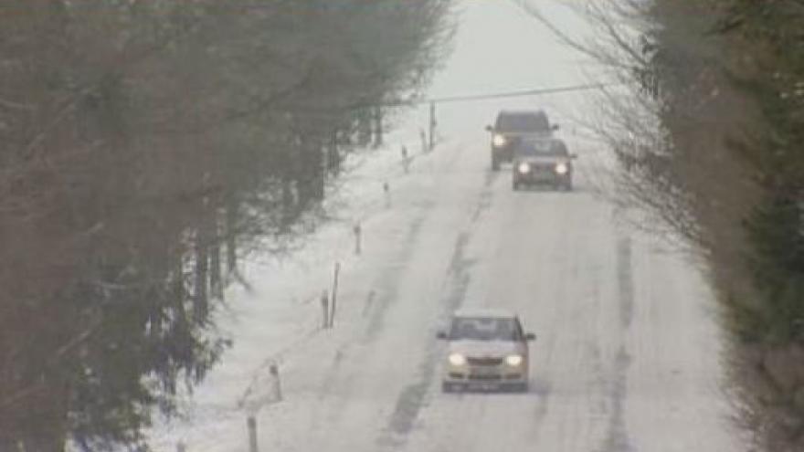 Video Sněhové komplikace na Vysočině