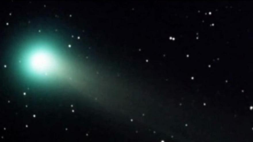 Video Kometu Lovejoy lze vidět pouhým okem