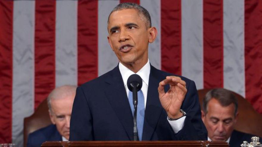 Video Obama přesvědčoval Kongres, že má splněno