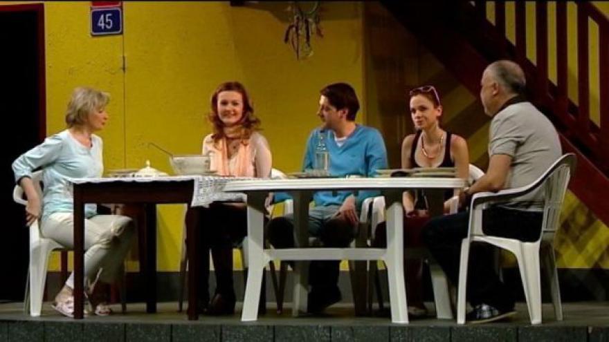 Video Ostravská činohra nastudovala hru Odsun
