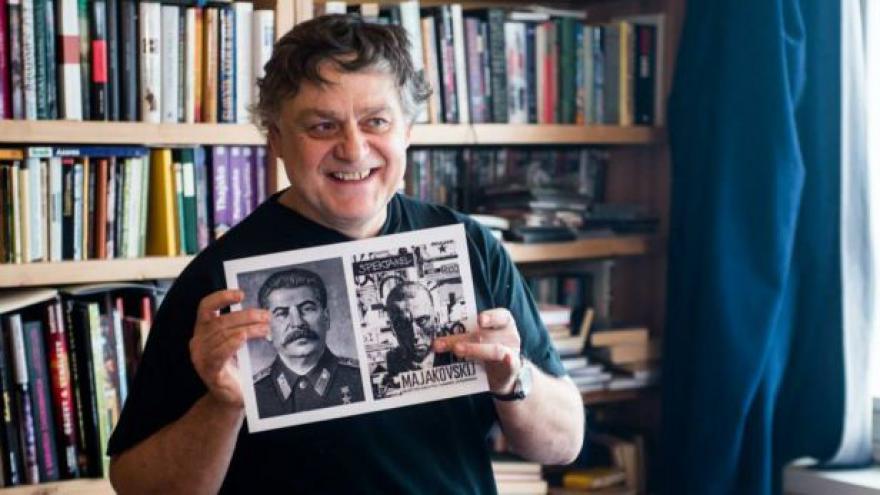 Video Jaroslav Róna ilustruje román 1984
