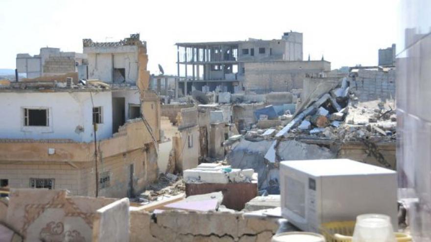 Video Kobani je po dlouhých bojích s islamisty téměř zničené