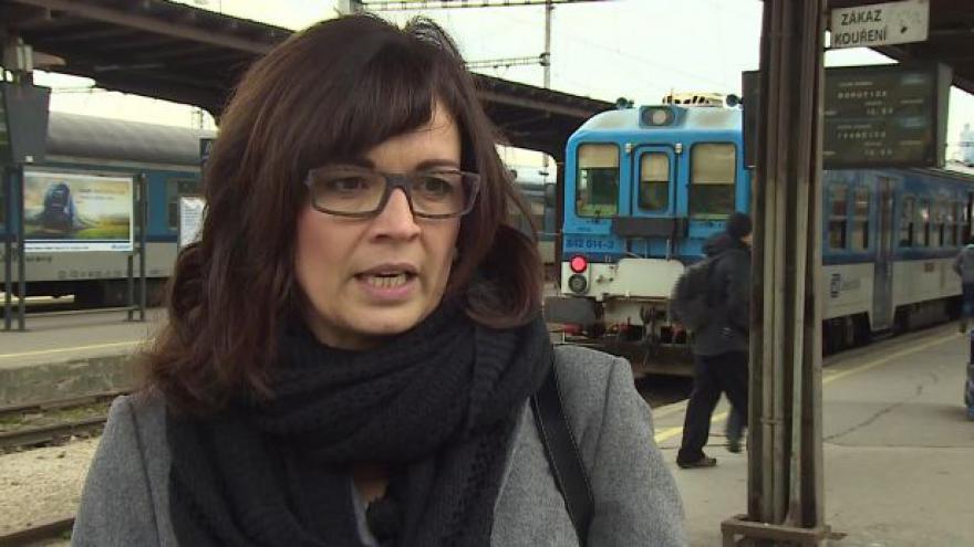 Video O přepravě handicapovaných hovoří mluvčí Českých drah