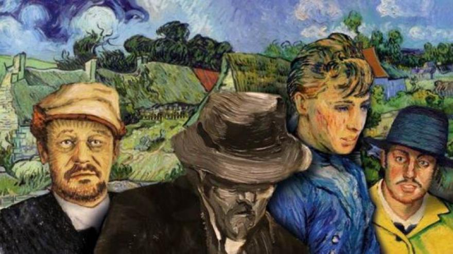 Video Život Vincenta Van Gogha skrze jeho plátna