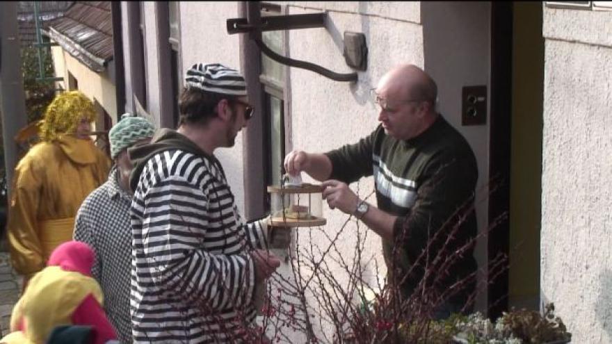 Video Masopust v Divišově čtvrti v Brně