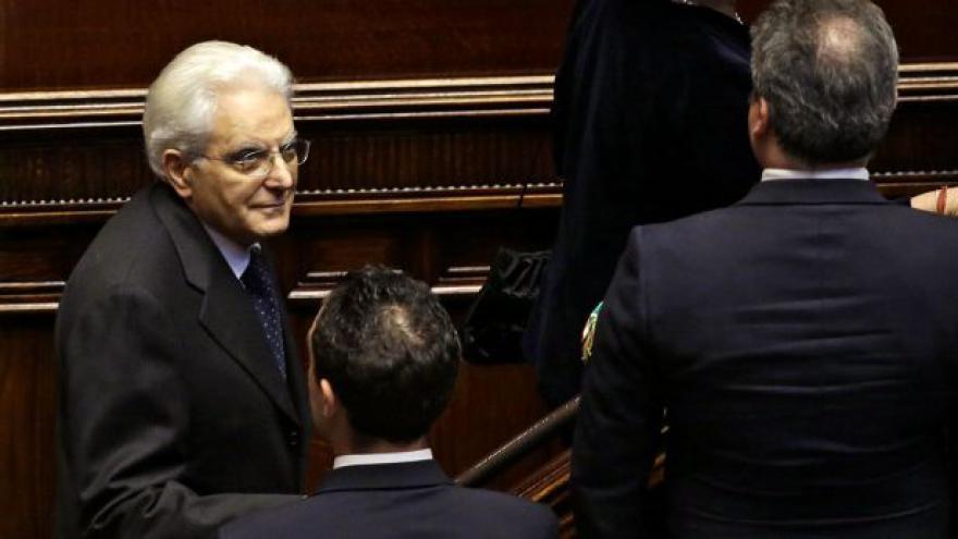 Video Andreas Pieralli o novém italském prezidentovi