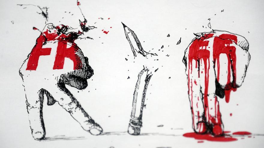 Video Bašár Asad: Francie se nepoučila z Charlie Hebdo