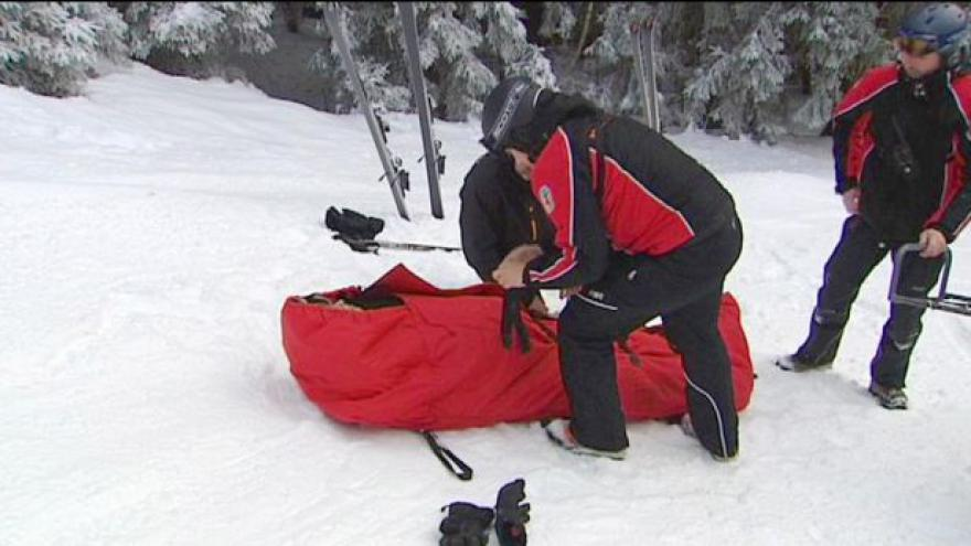 Video Rušná sezona horských záchranářů