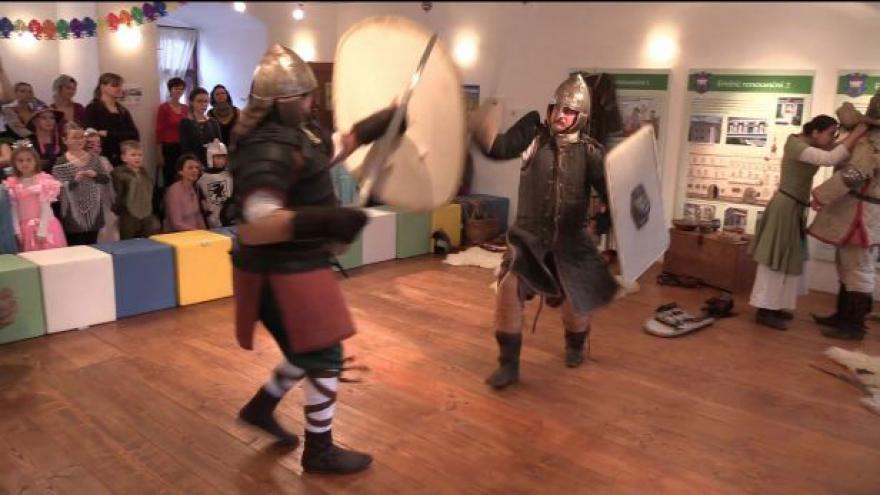 Video Zámecký karneval v Třebíči