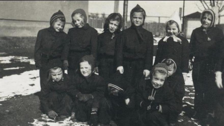 Video Svatobořické děti v pořadu o Heydrichovi