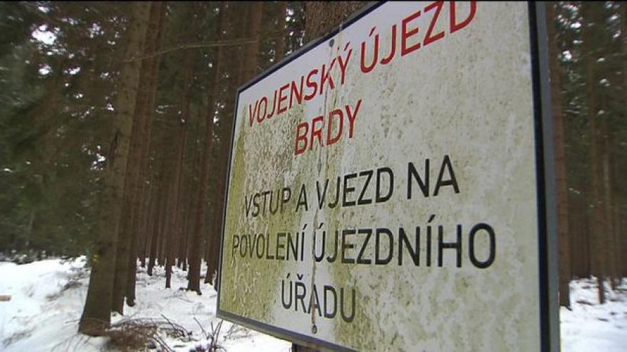 Video V Brdech bude nová cyklostezka - získá tam část lesů církev?