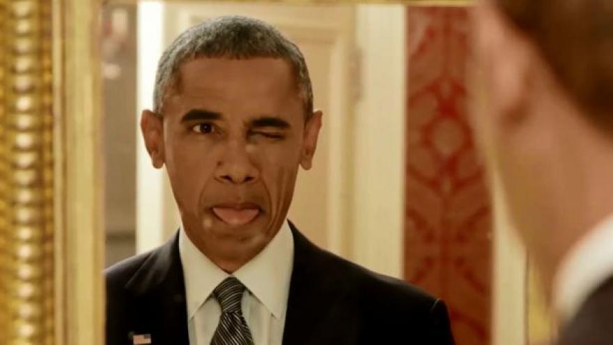 Video I Obama se umí uvolnit