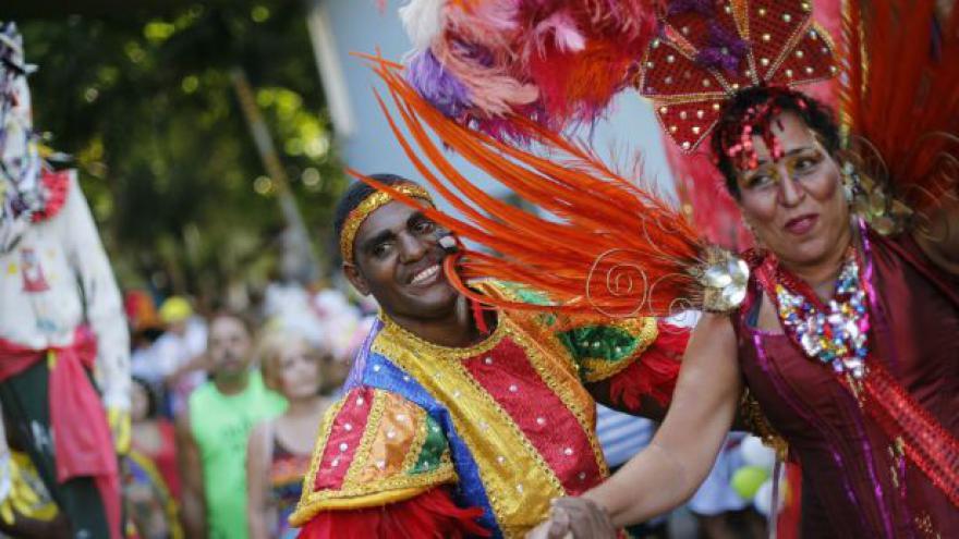 Video Rio se bude pět dní vlnit v rytmu samby