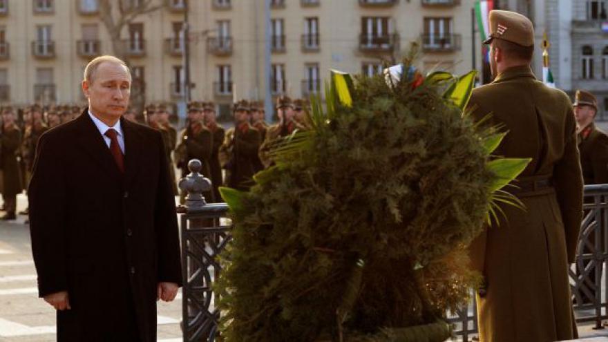 Video Horizont ČT24 k Putinově návštěvě v Maďarsku