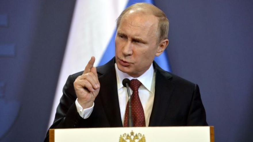 Video Vladimir Putin k dodávkám zbraní na Ukrajinu