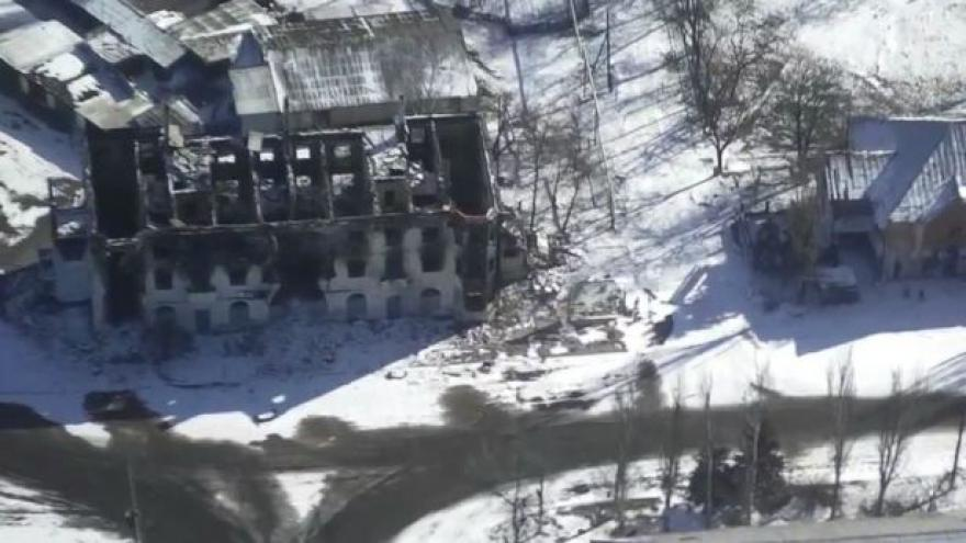 Video Letecké záběry Debalceve (zdroj: YouTube, Jurij Kasjanov)