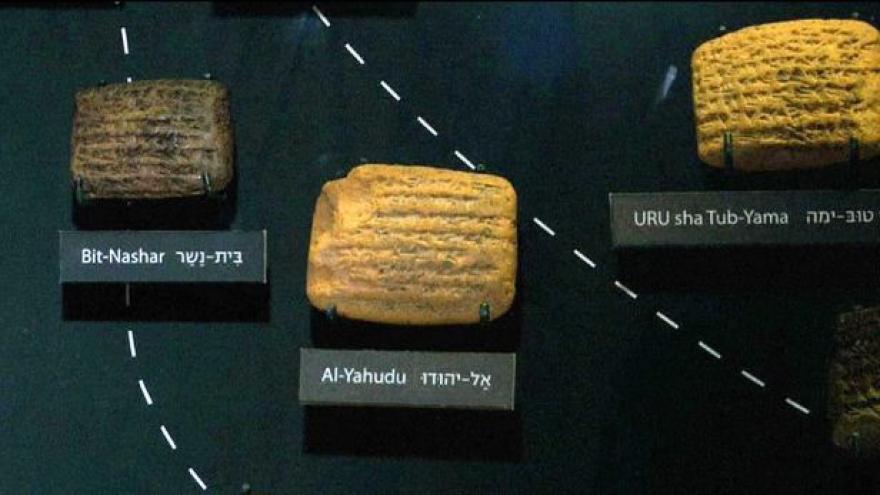 Video Výstava v Izraeli přibližuje babylonské vyhnanství Židů