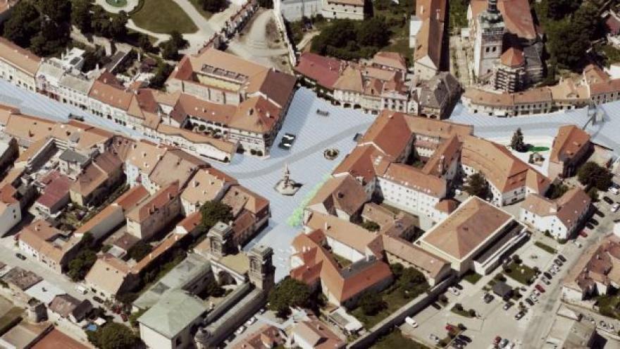 Video Vizualizace Kostelního náměstí