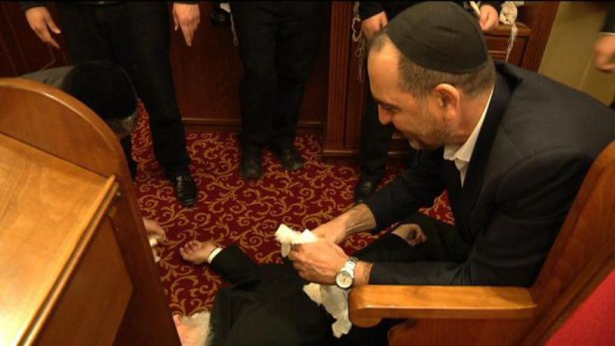 Video Rabíni se sjeli do Prahy na kurz sebeobrany