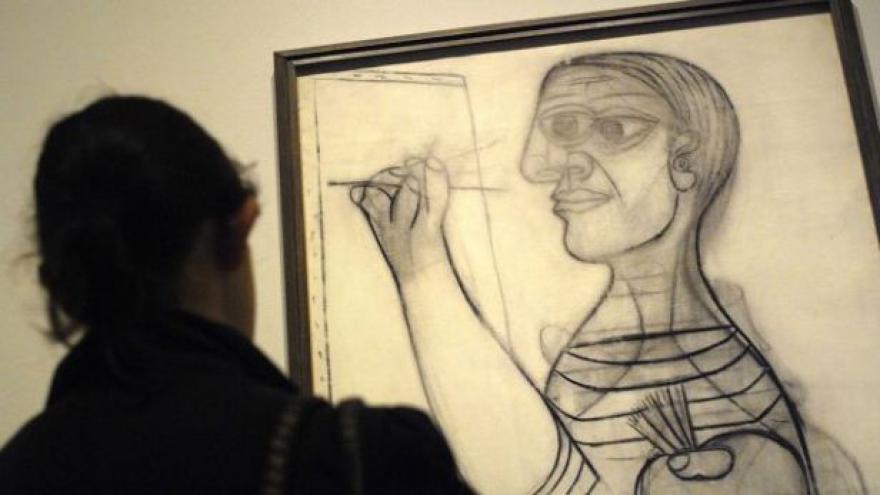Video Patří Picassova díla elektrikáři? Rozhodne soud