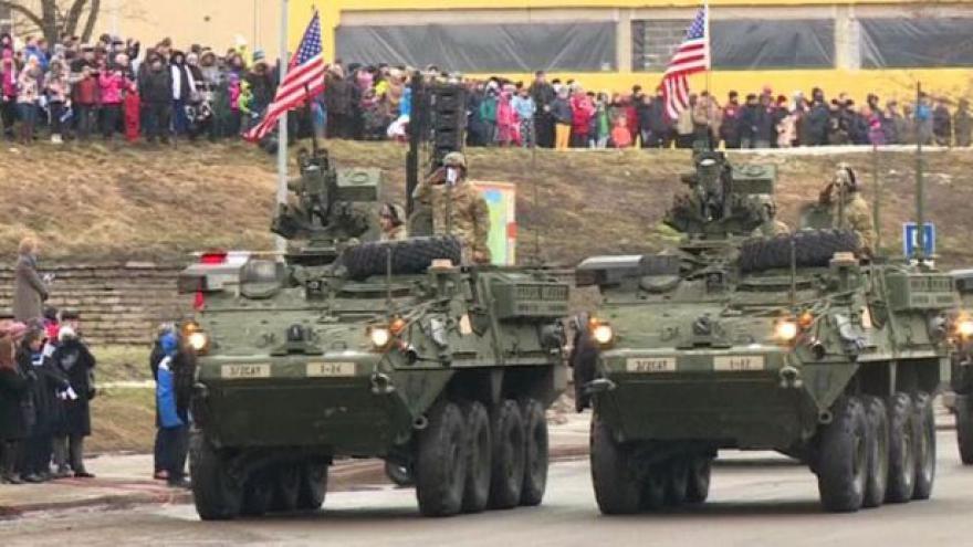 Video Američtí vojáci čím dál častěji cvičí v Evropě