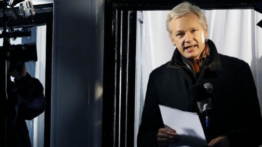 Video Švédsko chce v Londýně vyslechnout Juliana Assange