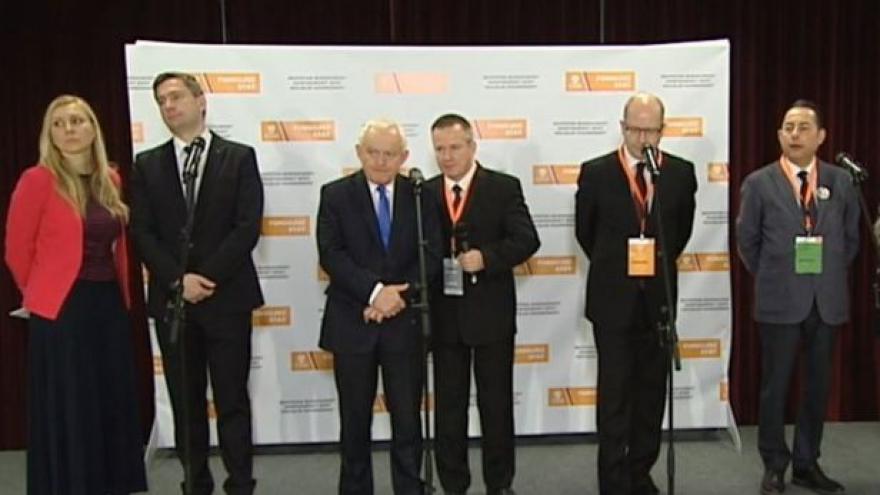 Video Tisková konference zahraničních hostů 38. sjezdu ČSSD