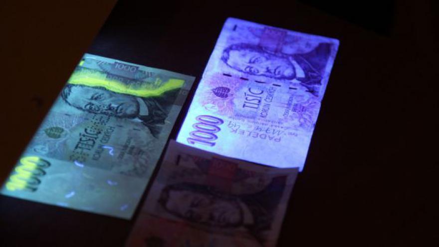 Video Padělaných peněz v Česku přibývá