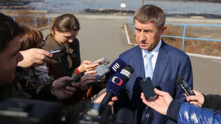 Video Ministr Babiš o hornických důchodech a ropných lagunách