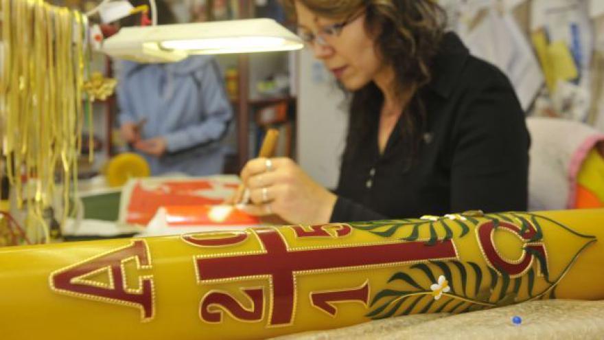 Video STUDIO 6: V Paloníně se zdobí velikonoční paškály
