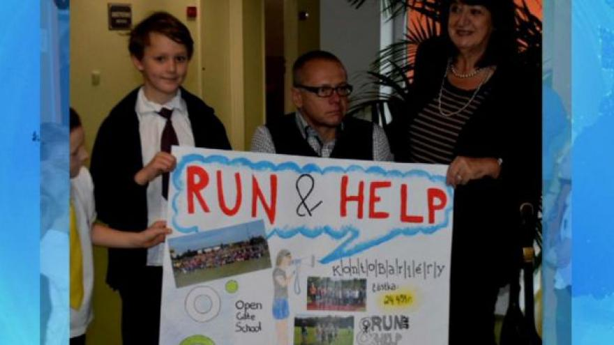 Video Projekt Run and help pomáhá handicapovaným