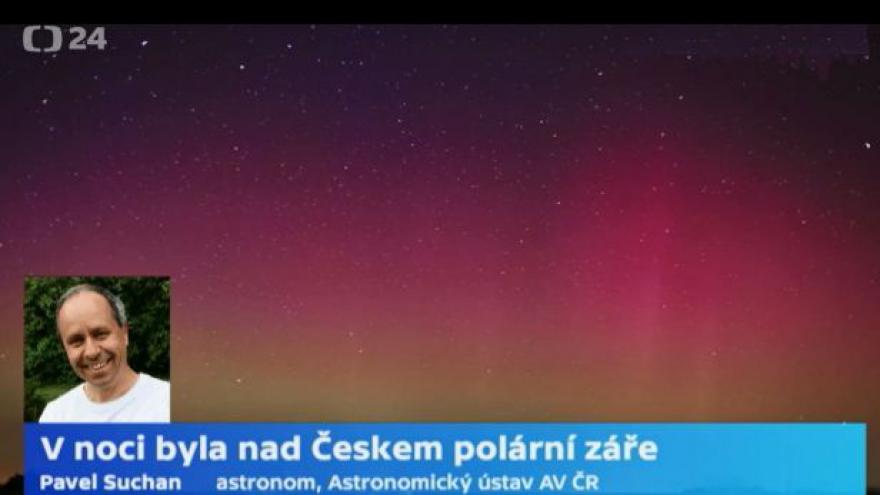 Video Pavel Suchan: Běžně k vidění tu polární záře není