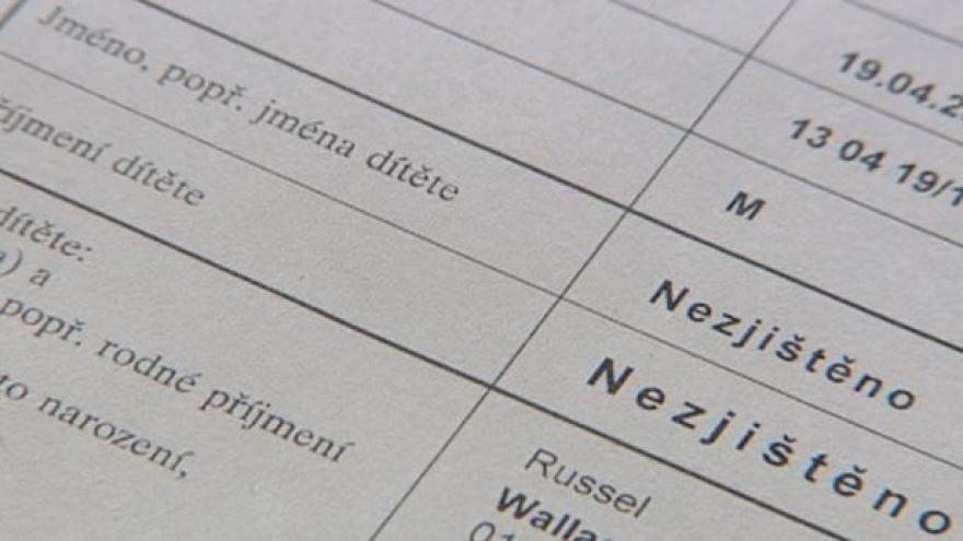 Video Události: Rodiče dětí bez jména se dostávají do patové situace