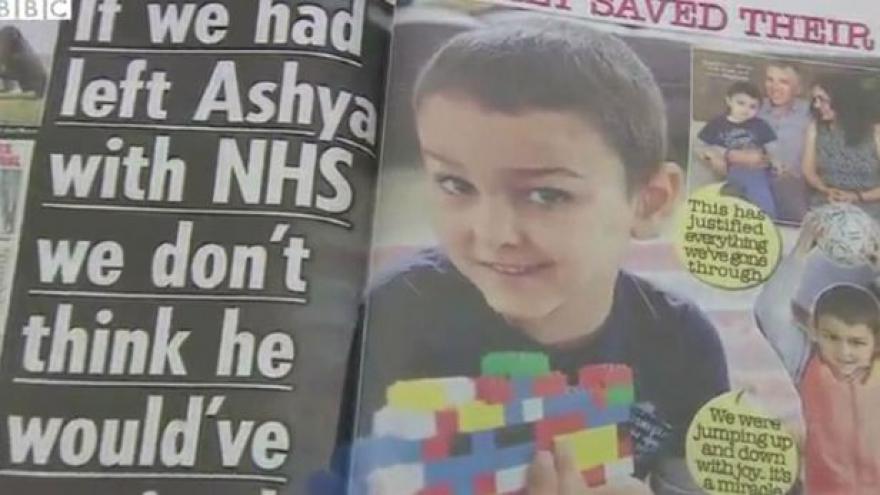 Video Ashya King se zřejmě vyléčil z rakoviny