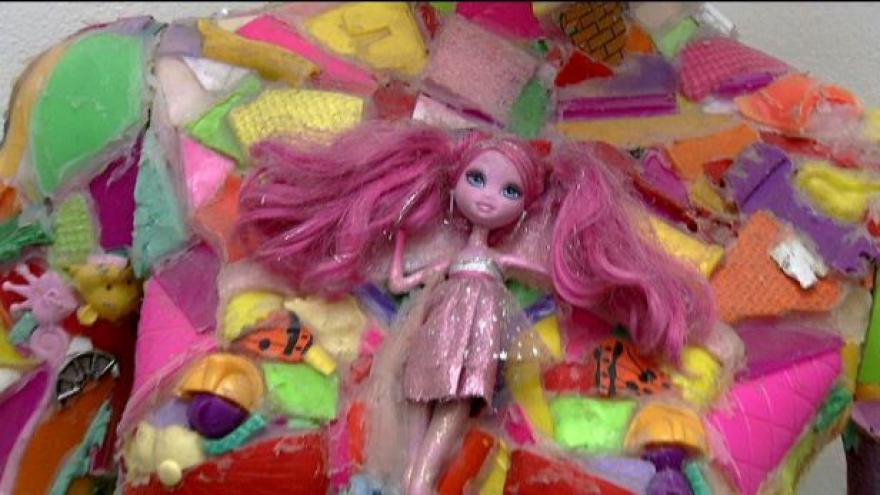Video Galerie umění pro děti vystavuje Neskutečno