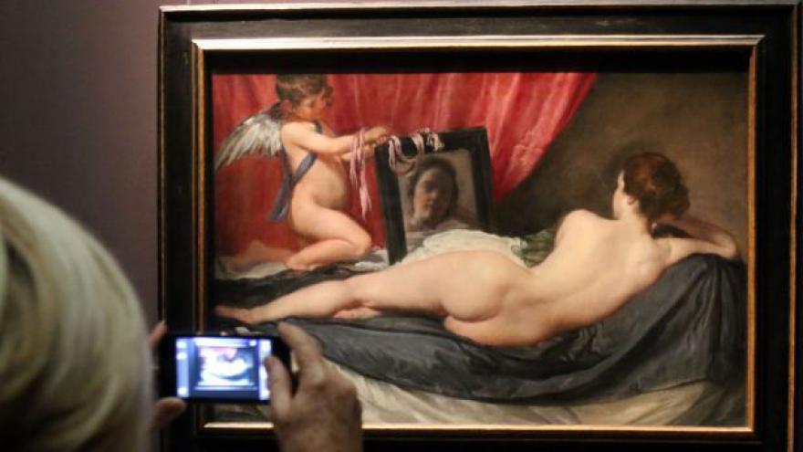 Video Paříž objevuje Velázqueze