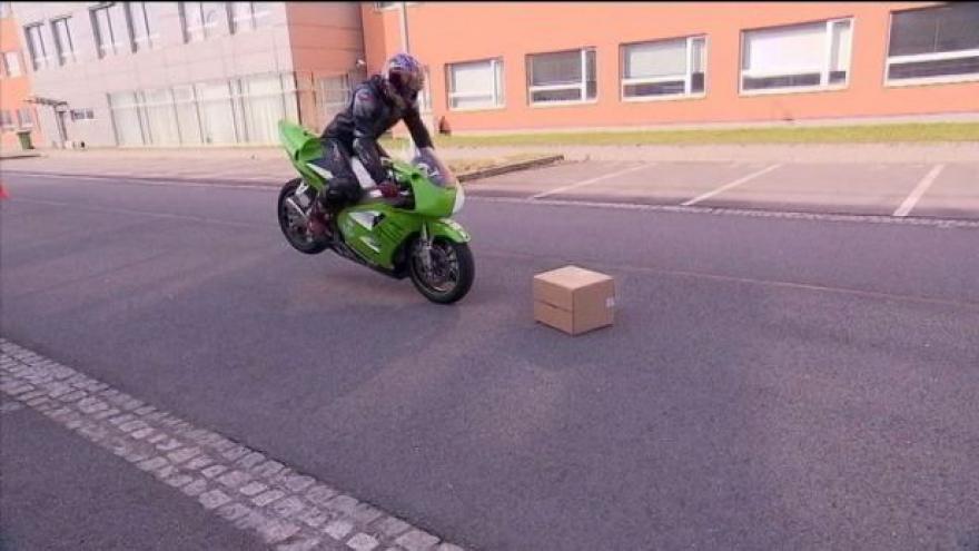 Video Vysoká škola báňská získala patent na motorku