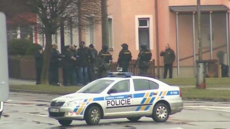 Video Policejní prezidium k zásahu v Uherském Brodě